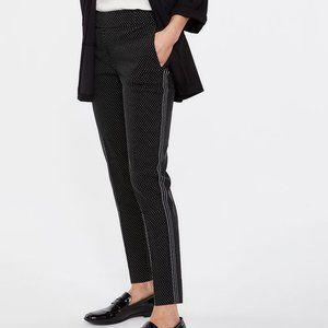 Reitmans The Iconic Black Polka Dot Pants 12P EUC